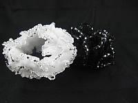 Резинка для волос махровая  большая (30 штук в упаковке)