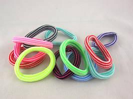 Резинка для волос нейлоновая  (диаметр - 4,5 см) (100 штук в упаковке)
