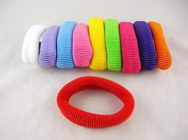 Резинка для волос нейлоновая  (диаметр - 7 см) (30 штук в упаковке)