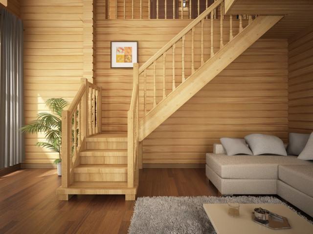 деревянная лестница купить