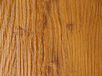 Листы профнастила под дерево цвет структурный золотой дуб, PRINTECH