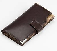 Клатч портмоне Baellerry(ShouYou) K20 Br темно-коричневый, фото 1