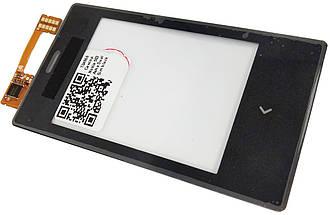Сенсор NOKIA Asha 503 Dual Sim, black, тач скрин для телефона смартфона, фото 2