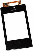 Сенсор (тач скрин) NOKIA Asha 503 Dual Sim, black