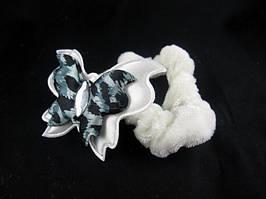 Резинка для волос велюровая (12 штук в упаковке)