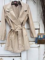 Итальянское пальто из натурального шелка