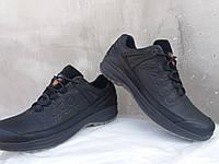 Весенние кожаные туфли ecco