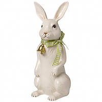 Villeroy & Boch Easter Decoration Bunny large standing with little bell 22cm   декорація