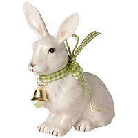 Villeroy & Boch  Easter Decoration Bunny small seated with bell 11,5cm  декорація