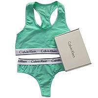 Женский комплект Calvin Klein M, Бирюзовый