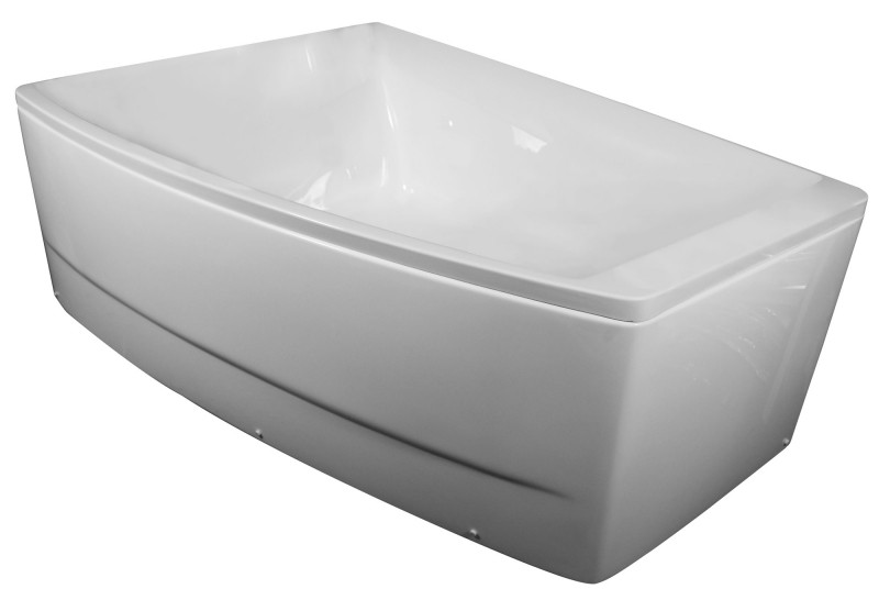 Ванна Volle TS 100   асимметричная без гидромассажа с панелью на каркасе левая/правая