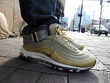 Мужские кроссовки Nike Air Max 97 OG Metallic Gold 885691-700, Найк Аир Макс 97, фото 3