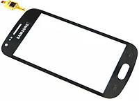 Сенсор (тач скрин) SAMSUNG Galaxy S Duos S7562 Black