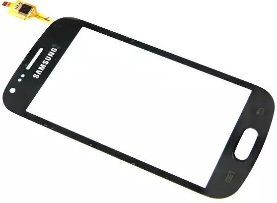 Сенсор SAMSUNG Galaxy S Duos S7562 Black, тач скрин для телефона смарт