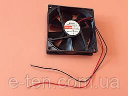 Вентилятор осьовий універсальний Sunflow 92мм*92мм*25мм / 24V / 0,15 А /(квадратний)