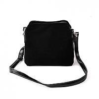 Замшевая сумочка М121-33/замш маленькая на плечо кросс-боди, фото 1
