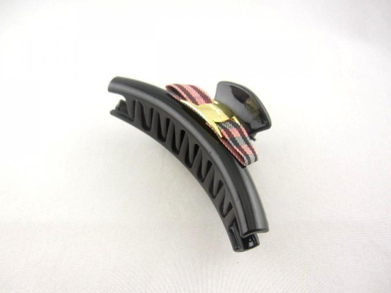 Заколка - краб для волосся середній (12 штук в упаковці)