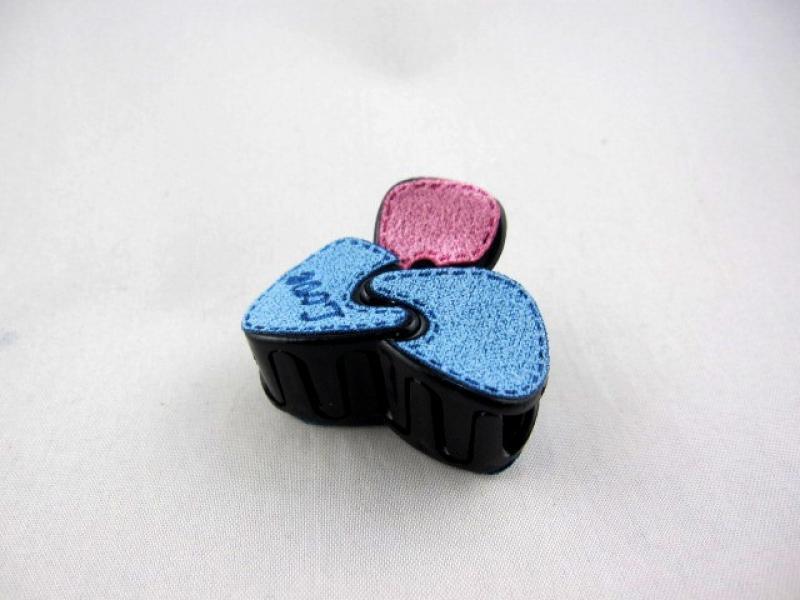 Заколка - крабик для волос малый (12 штук в упаковке)