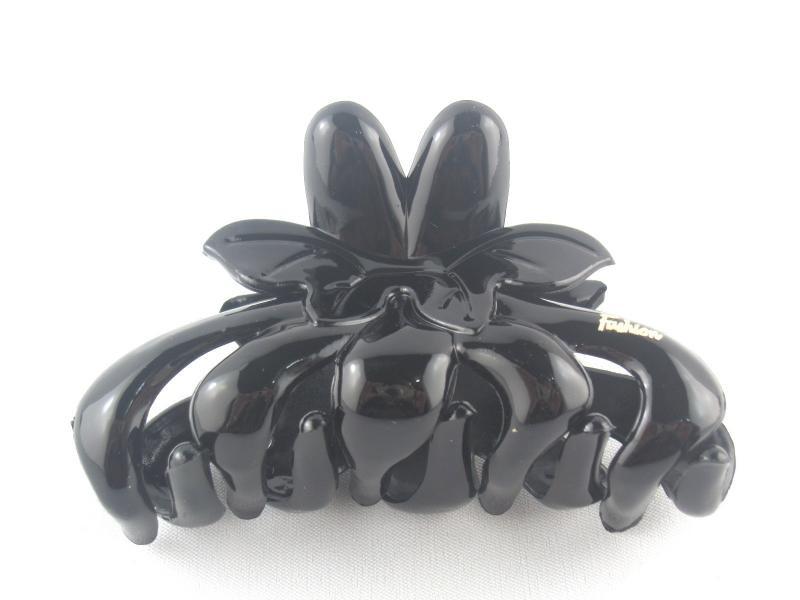 Заколка - краб для волос средний (12 штук в упаковке)