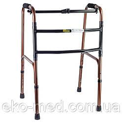 Ходунки для инвалидов NOVA складные ,шагающие