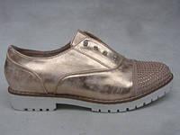 Туфли оптом 36-41 золотистые