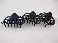 Заколка - краб для волосся великий (12 штук в упаковці)