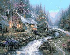 Картина раскраска по номерам на холсте Mariposa Дом волшебника (MR-Q491) 40 х 50 см