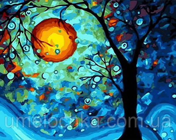 Раскрашивание по номерам Mariposa Мистическая луна (MR-Q949) 40 х 50 см