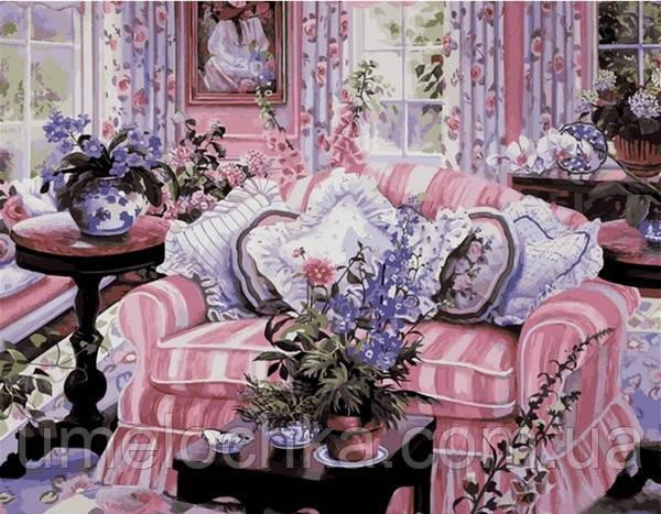 Рисование по номерам Mariposa Домашний уют Худ Сьюзан Риос (MR-Q2103) 40 х 50 см