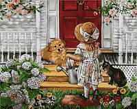 Картина по номерам Mariposa Маленькие помощники (MR-Q2104) 40 х 50 см