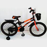 Велосипед детский 20 дюймов HAMMER S500 оранжевый