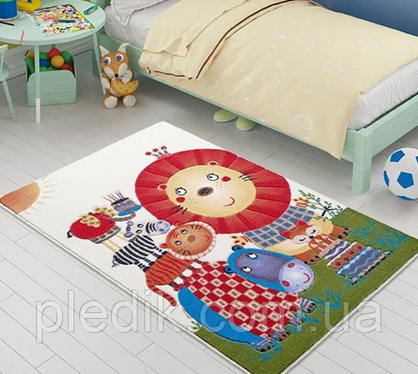Коврик для детской комнаты 100х150 Confetti LION KING оранжевый