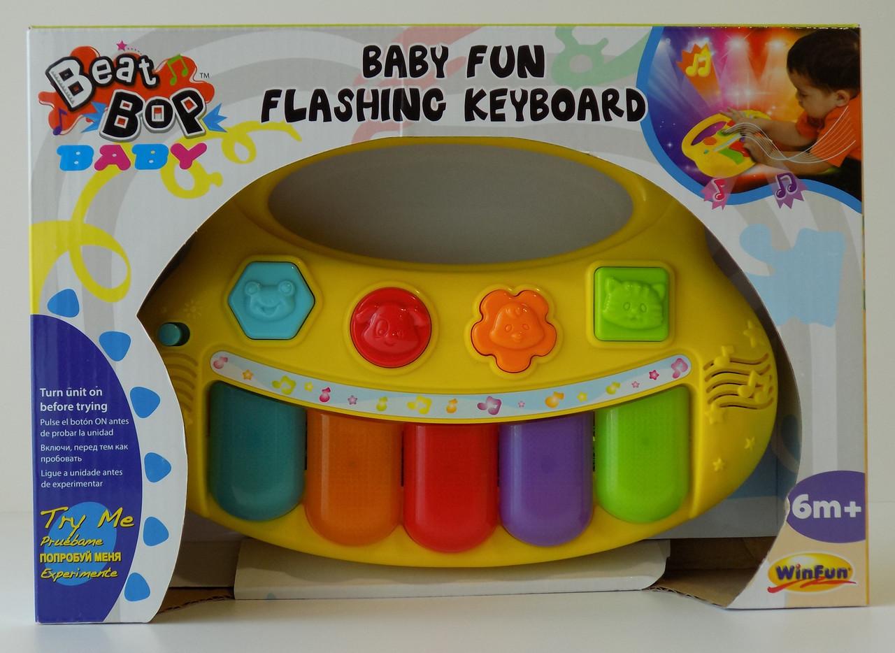 Детское пианино для детей развивающая игрушка Beat Bop