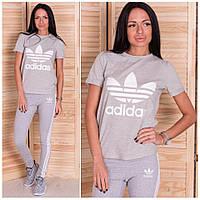 Костюм футболка и лосины adidas