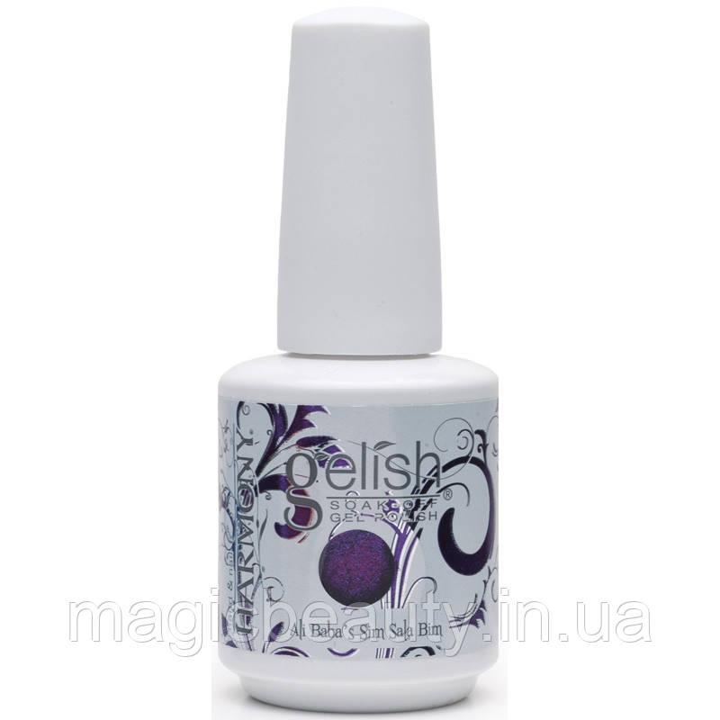 Гель-лак Gelish 01601 Ali Baba's Sim Sala Bam - с эффектом хамелеон, сине-фиолетовый с шиммером15 мл