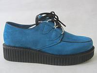 Туфли криперсы фирменные 36-41 оптом