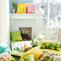 Декоративные подушки к весне