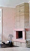 Кованый набор для камина с дровницей