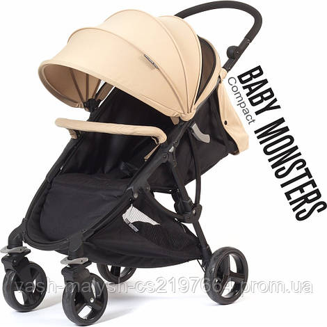 Прогулочная коляска Baby Monsters Compact 2017