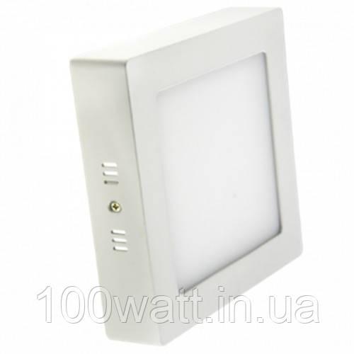 Светильник светодиодный DOWNLIGHT LED-SS-300-24  24Вт 6400К квадрат накладной