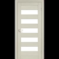 Дверь PORTO  PR-08. Со стеклом сатин (дуб беленый, венге, дуб грей, орех, дуб марсала). KORFAD (КОРФАД)