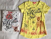 Трикотажная футболка для девочек S&D 98-128 р.р. Супер цена!!!, фото 1