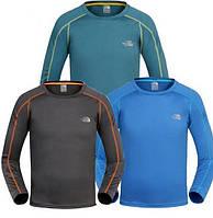 Легкие устойчивые мужские футболки The North Face. Новые с бирками в фирменной упаковке. Дешево.  Код: КГ804