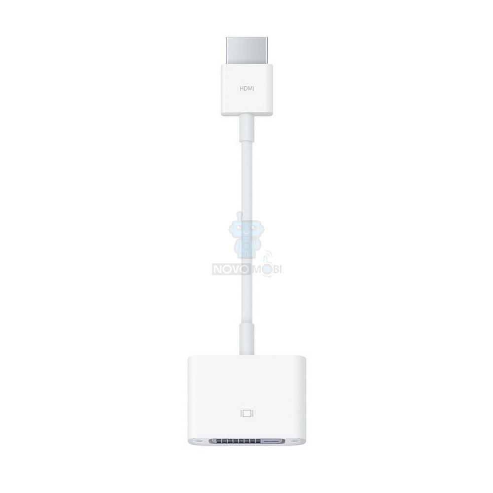 Оригинальный адаптер Apple, HDMI на DVI (MJVU2)