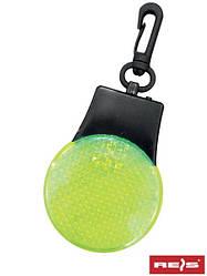 Светоотражающий брелок с диодами LED KEYLED Y