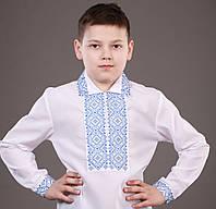 """Красивая вышиванка для мальчика на кнопках """"Князь-1"""""""