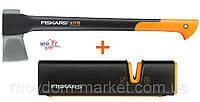 Набор122466: Топор-колун Fiskars X17 (122460) + точилка (120740) Опт и розница