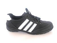 Туфли спортивный на шнурках мужские черный Perfect - T-7