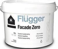 Краска для фасада акриловая Flugger Façade Zero, банка 1 л