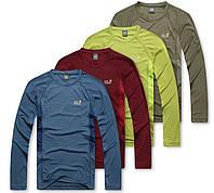 Устойчивые к выцветанию мужские футболки Jack Wolfskin. Потовыводящий материал. Доступная цена.  Код: КГ805